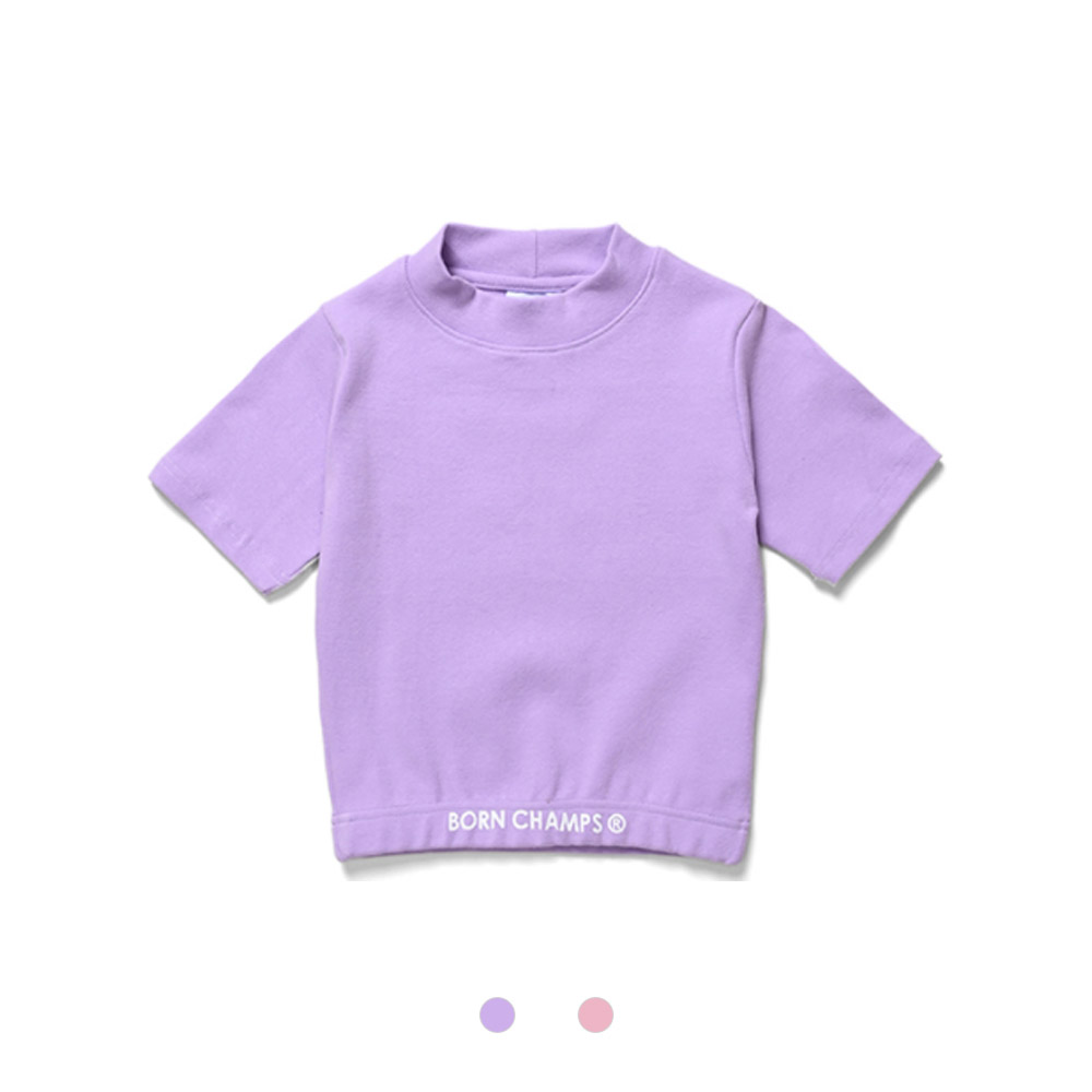 [BORNCHAMPS] BCG CROP TEE CESBGTS02 2COLOR